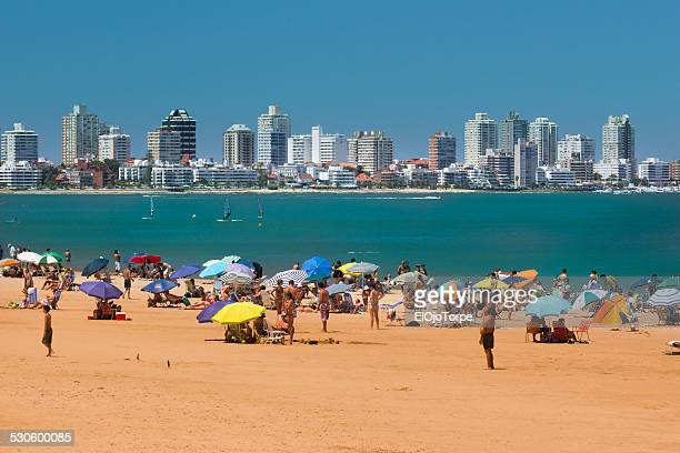 Beach at Punta del Este, Maldonado, Uruguay