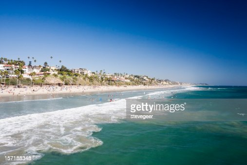 Beach at San Clemente, California