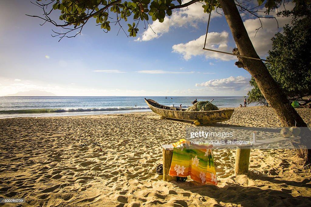 Beach at Seychelles : Photo