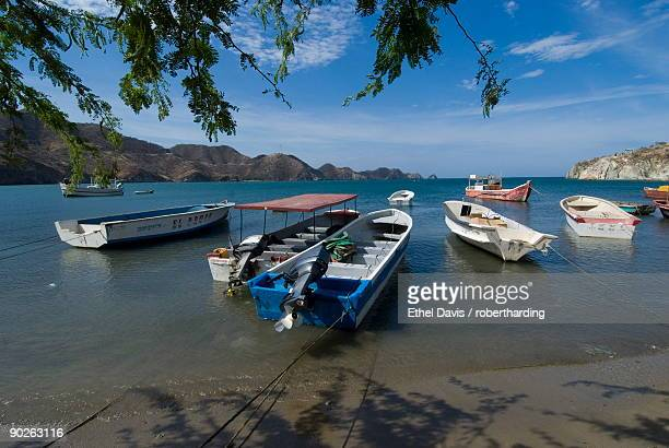 Beach at Taganga, near Santa Marta, Colombia, South America