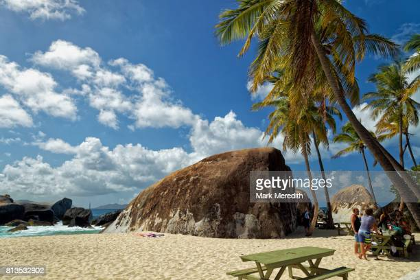 Beach at the Baths National Park, Virgin Gorda, British Virgin Islands