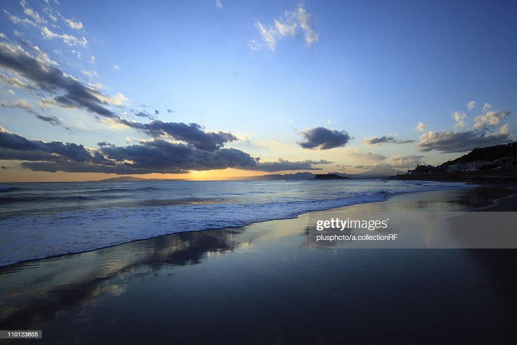 Beach at Twilight : Stock Photo