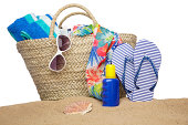 Beach bag and accessories