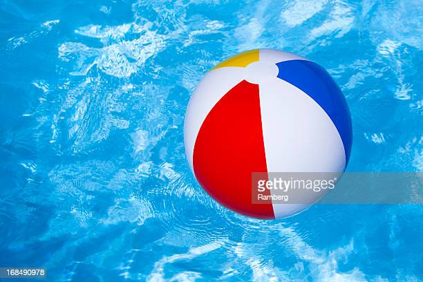 Beach Ball In Water beach ball stock photos and pictures | getty images