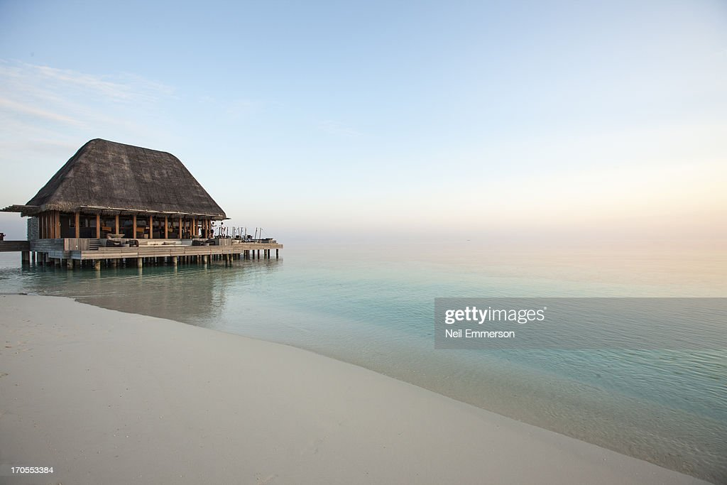Beach Bar at W Hotel Maldives