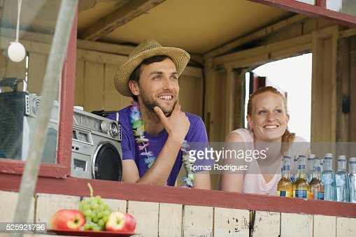 Beach Bar : Stock Photo