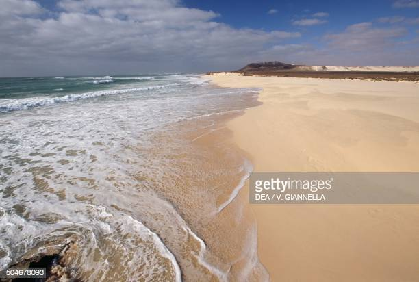 Beach Boa Vista Cape Verde