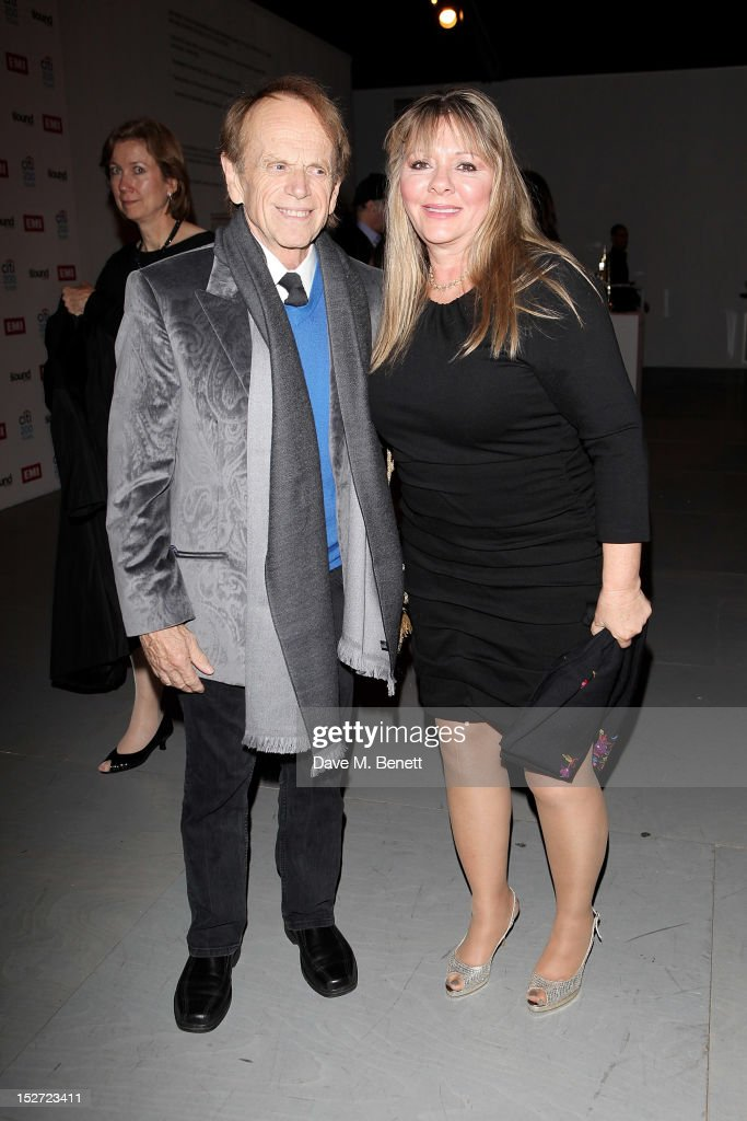 Beach Boy Al Jardine (L) and Mary Anne Jardine arrive at the EMI Music Sound Foundation fundraiser at Somerset House on September 24, 2012 in London, England.