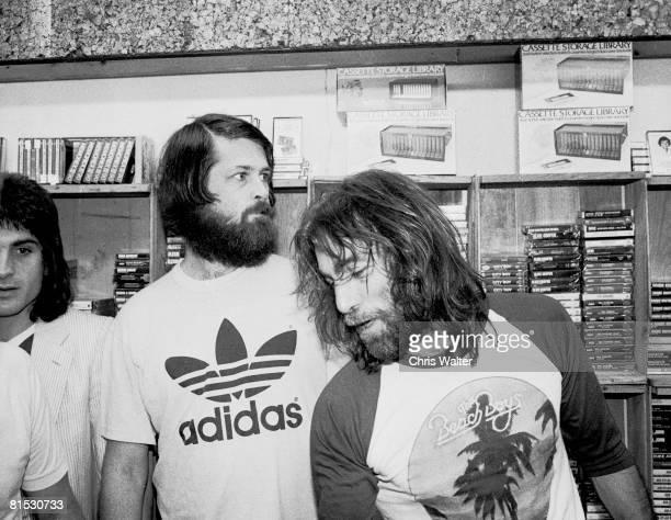 Beach Boys 1979 Brian Wilson Dennis Wilson on Beach Boys Day in LA