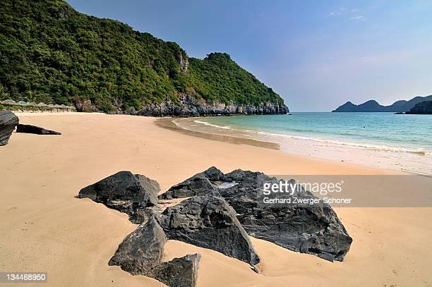 Beach, Cat Ba, Halong Bay, Vietnam, Southeast Asia