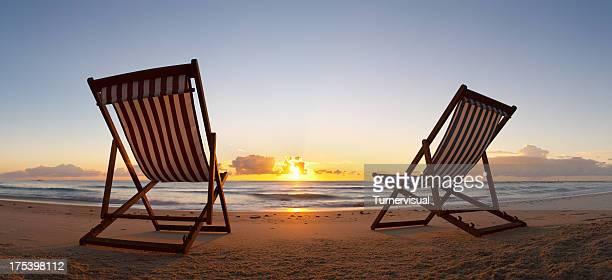 Beach Chair Sunrise