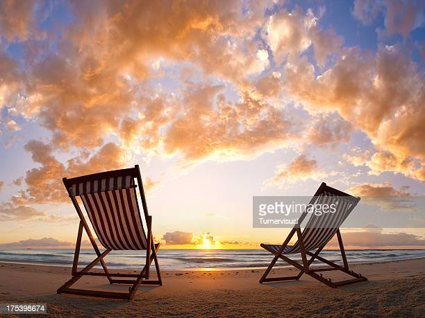 Beach Chair Sunrise