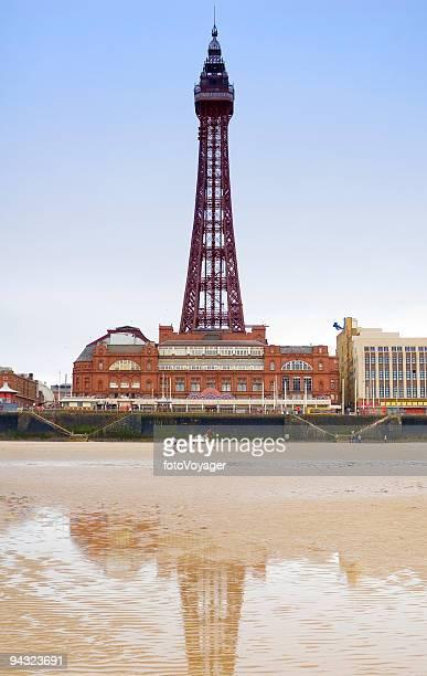 Beach, chariot, tower