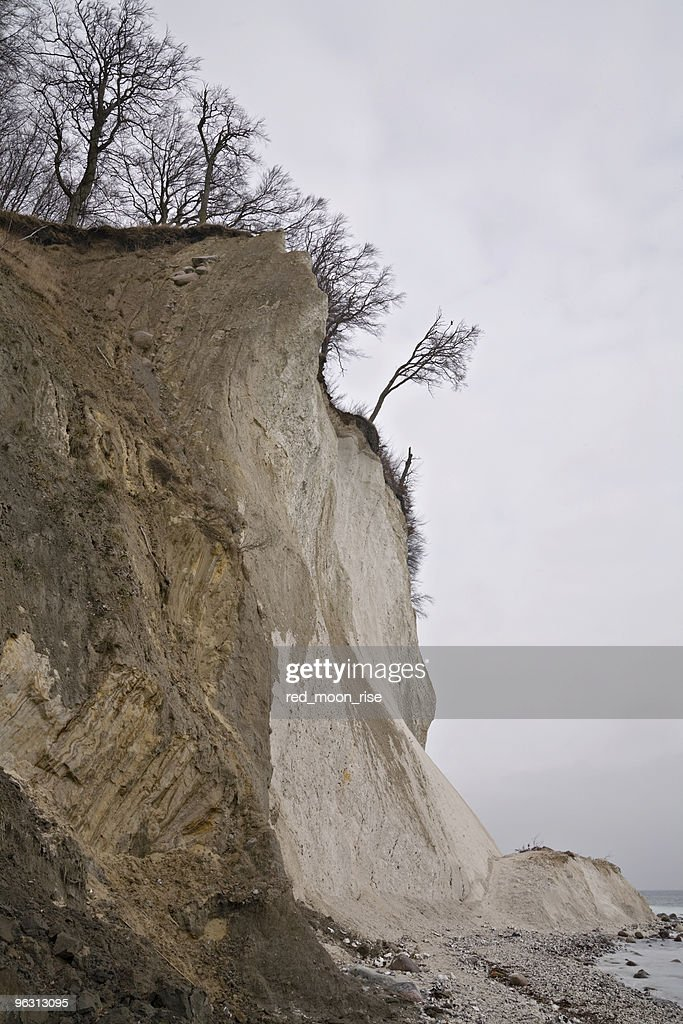 beach erosion : Stock Photo