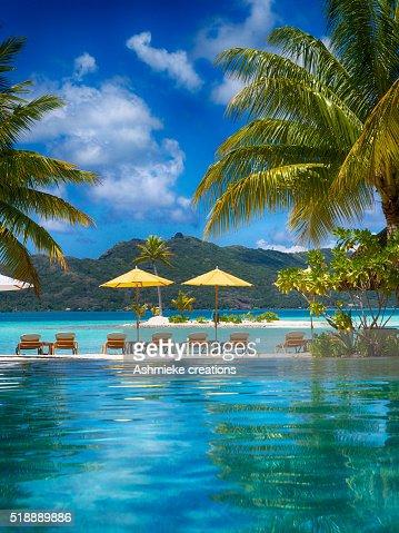 Beach Four Seasons Resort Bora Bora French Polynesia