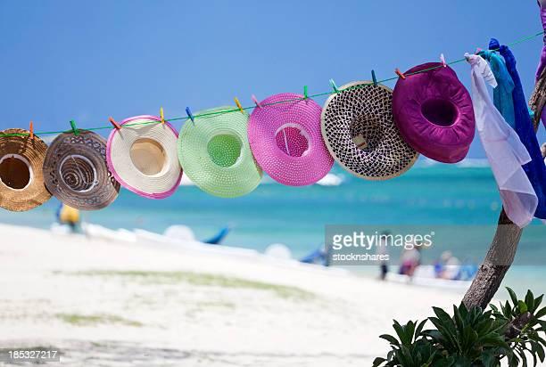 Chapeaux de Style mauricien plage