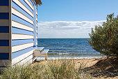 Colourful Beach Hut on Brighton Beach - Melbourne