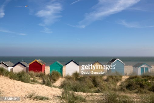 'Beach Huts, Southwold, East Anglia (XXXL)'