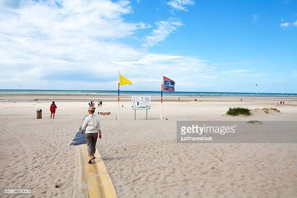 Beach in Belgium