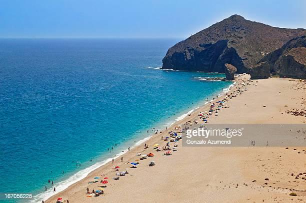 Beach in Cabo de Gata.
