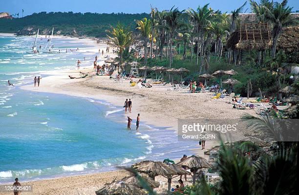 Beach in Cayo Coco Cuba Province of Ciego de Avila the northern coast of the island its coconut resort