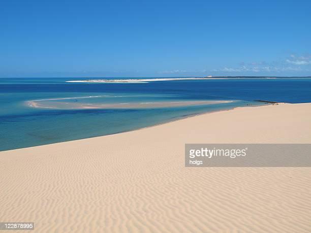 Praia em Moçambique, África