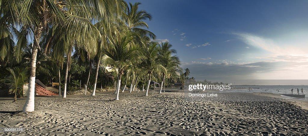 Beach in Santa Marta, Colombia