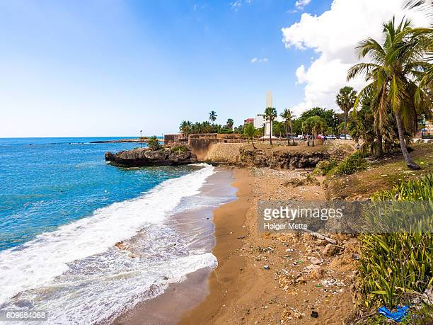 Beach in Santo Domingo, Dominican Republic