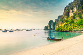 Beach in Krabi of Thailand
