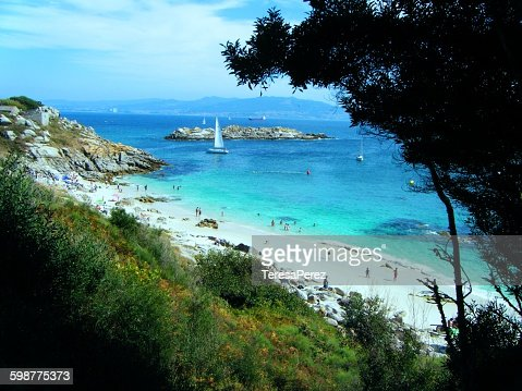 Beach in the Cies Islands