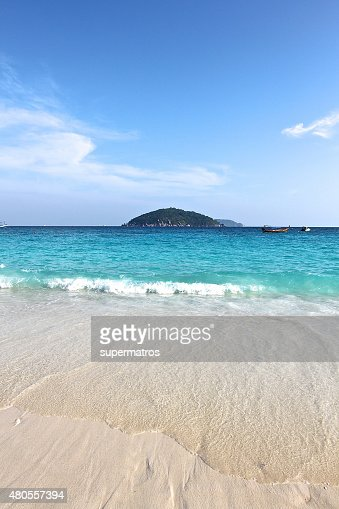 beach in the Similan Islands : Stock Photo