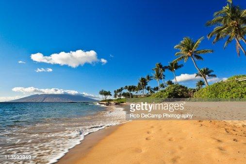 Beach in Wailea, Maui