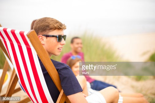 beach kids : Stock Photo