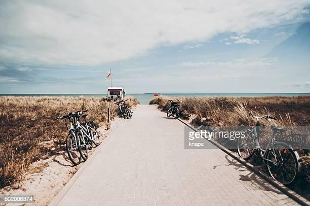Strand-Landschaft in Deutschland Europa Rügen