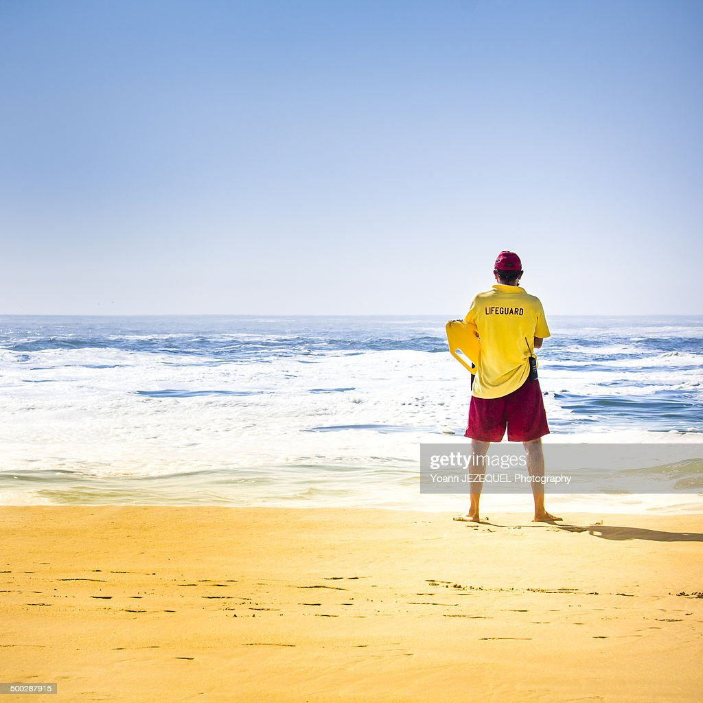 Beach lifeguard : Photo
