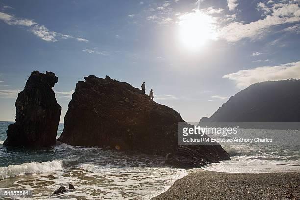 Beach, Monterosso Al Mare, Cinque Terre, Italy