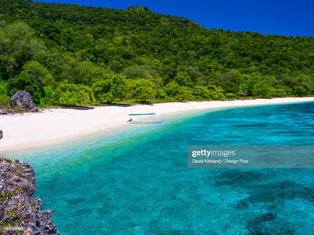 A beach near Baucau on Timors Northern coast : Stock Photo
