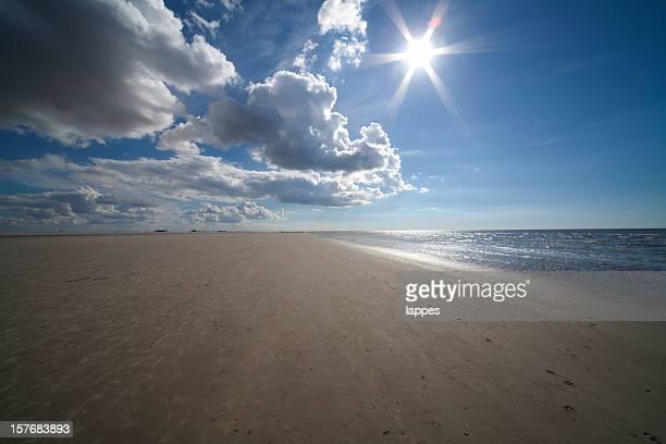 Beach near Sankt Peter Ording
