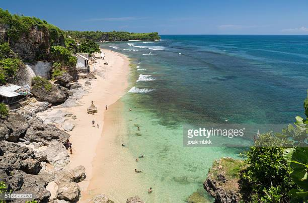 Beach of Balangan in Bali