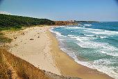 Beach of Black sea, Bulgaria