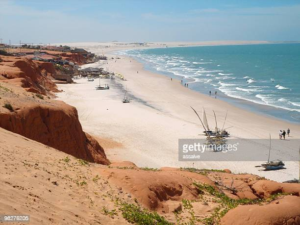 Beach of Canoa Quebrada, Brazil