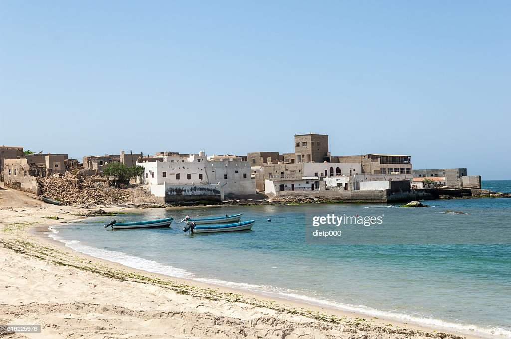 Beach of Mirbat, Salalah, Dhofar, Sultanate of Oman : Stockfoto