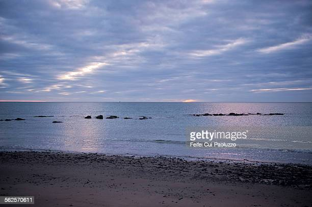 Beach of Rosslare County Wexford Ireland