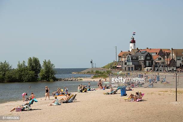 Beach of Urk, The Netherlands