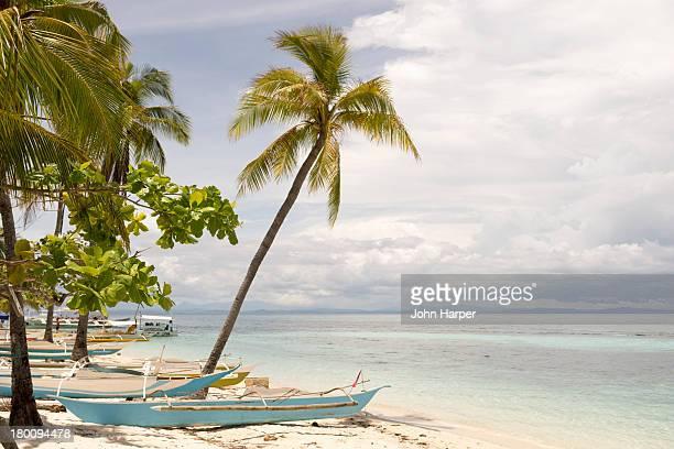 Beach on Malapasqua, Philippines