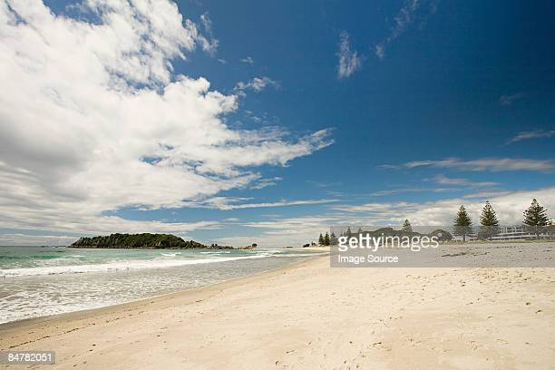 A beach on north island