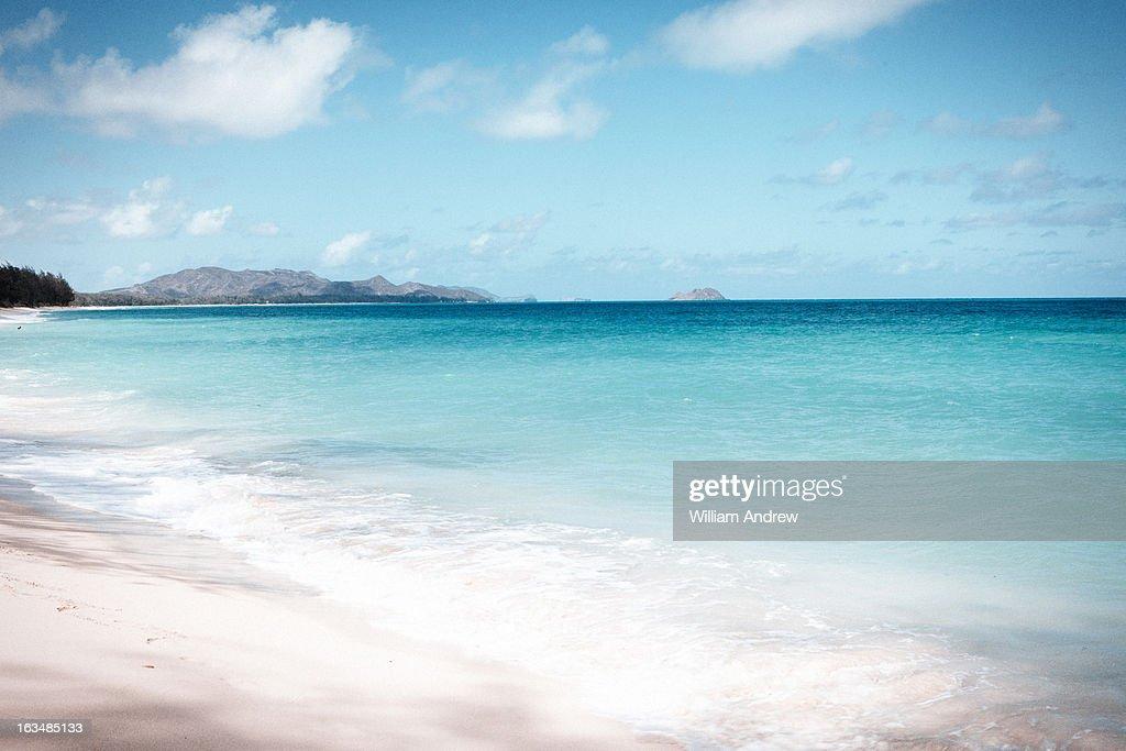 Beach on Oahu, Hawaii : Stock Photo