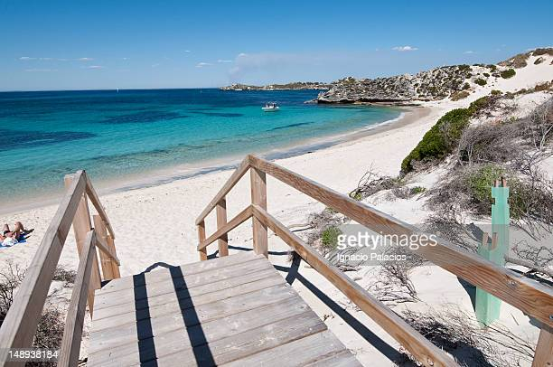 Beach on Rottnest Island (Wadjemup).