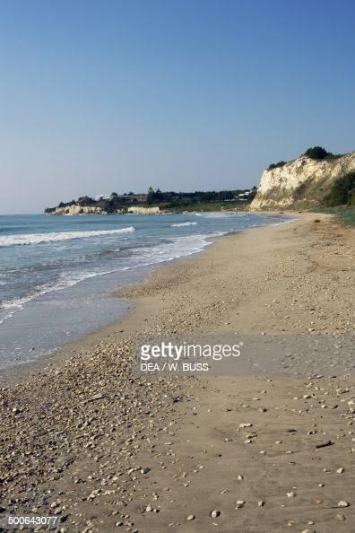 Beach on the Black Sea near Balcik Bulgaria