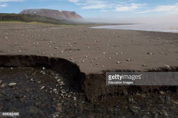 Beach on the Disko island The Disko island is a historical biological and geologically interesting area With Inuit settlements dating back 6000 years...